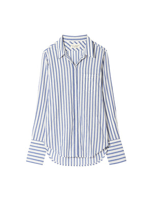 NL Shirt in Blue/White Stripe