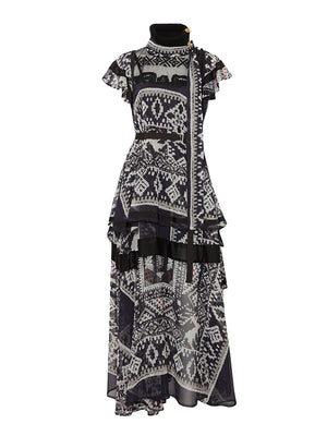 Native American Printed Dress