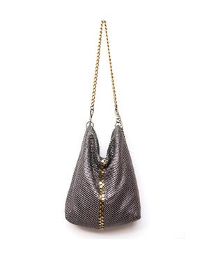 New Basic Party Bag in Shiny Silver/Gold
