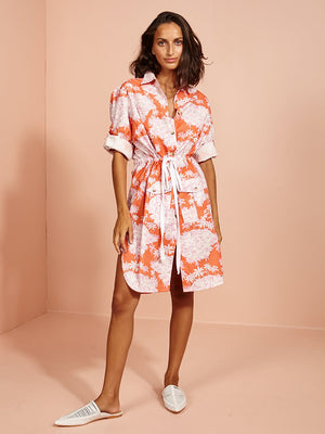 Coconut Lagoon Shirt Dress