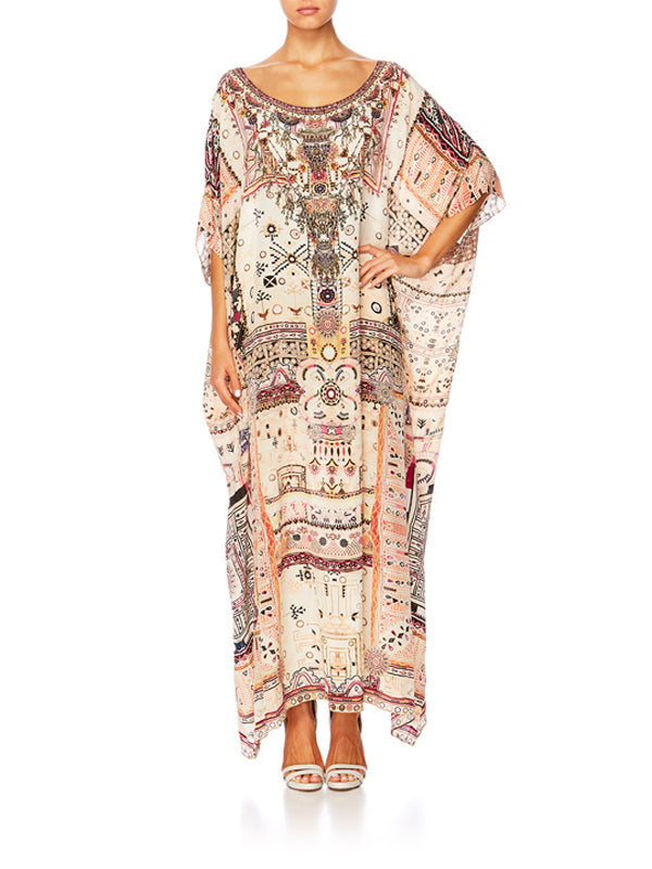 ROUND NECK KAFTAN IN ON THE ROAD