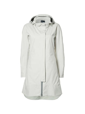 Laminar Raincoat in Light Grey