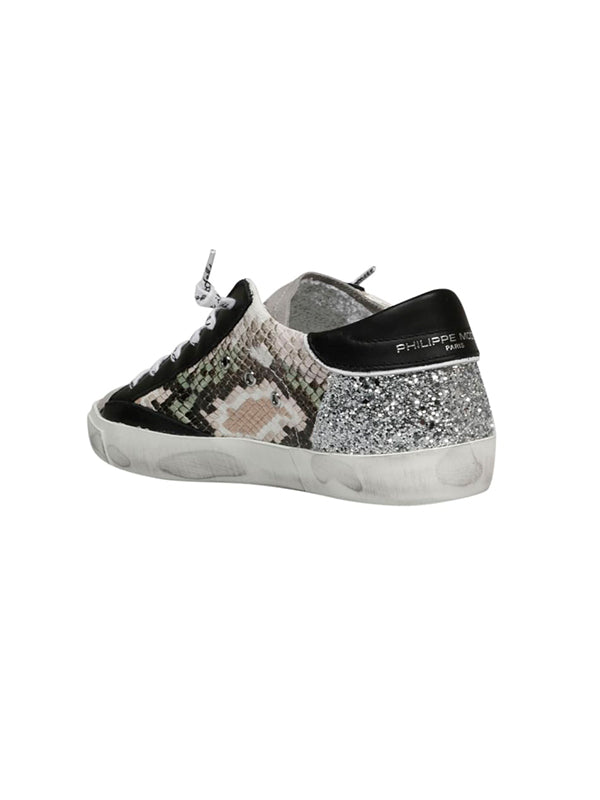 Philippe Model PRSX Low Python Glitter