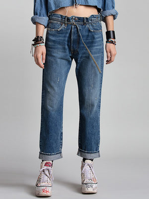 R13 Paperbag Hayden Jean in Kelly