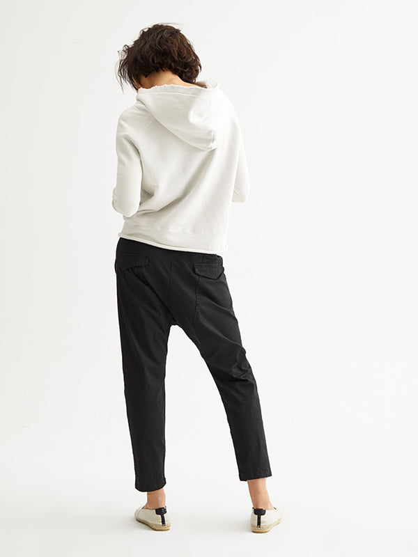 Nili Lotan Paris Pant in Jet Black
