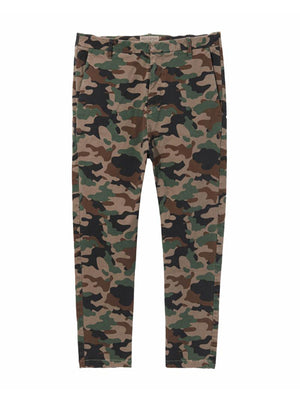 Paris Pant in Coyote Brown Camouflage