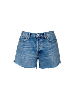 Parker Loose Fit Long Vintage Short in Skywave