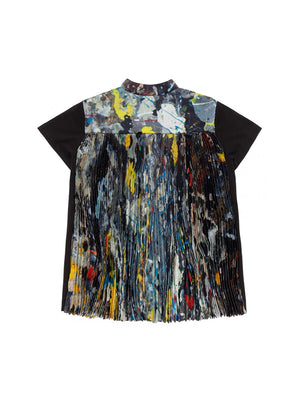 Sacai Pollock T-Shirt in Multi