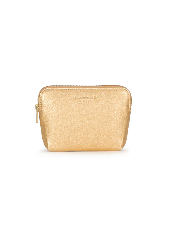 Poucher Metallic Gold Resort
