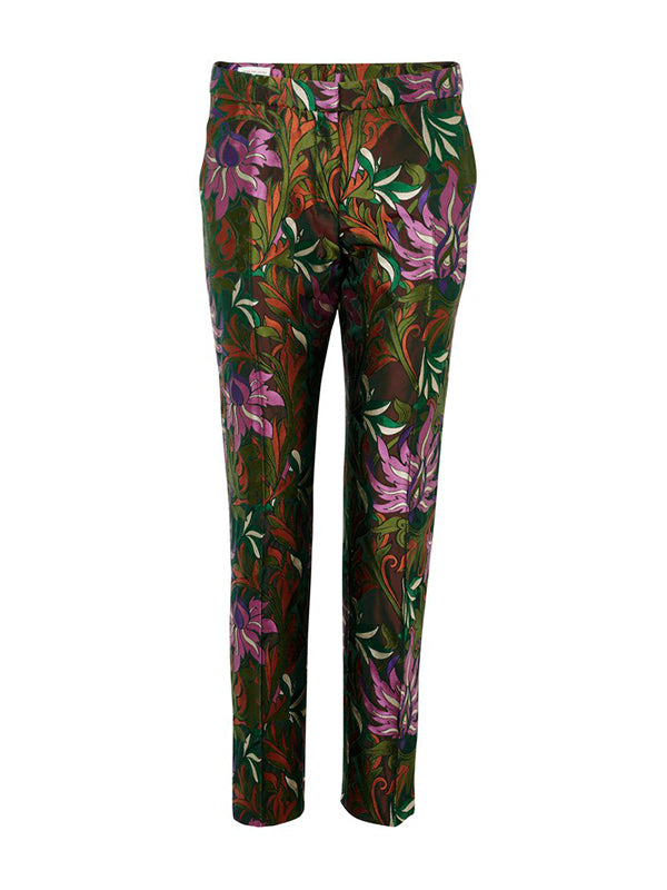 Dries Van Noten Poumas 1336 Pant in Kaki