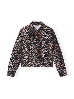 Leopard Denin Jacket