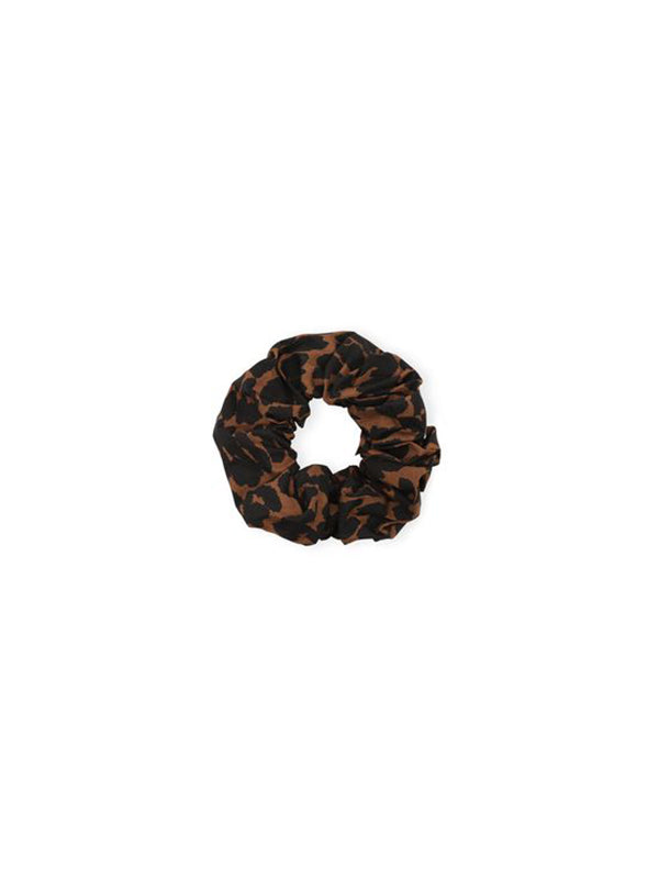 Ganni Scrunchie in Toffee