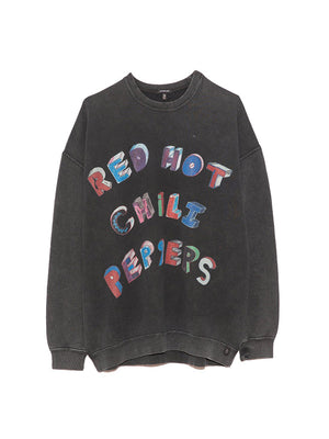 RHCP Flea Art Oversized Crewneck