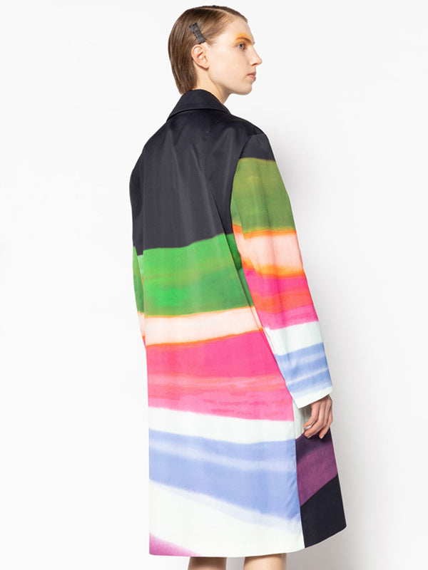 Dries Van Noten Rolta 2047 Coat in Black