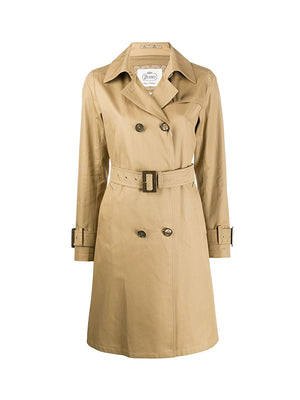 Rain Trench Coat in Camel