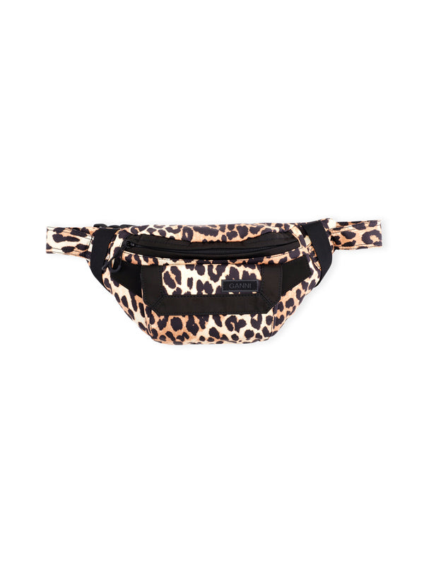 Ganni Bum Bag in Leopard