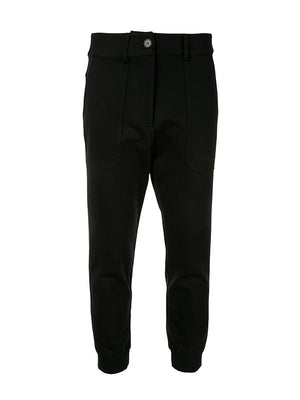 Relaxed Ponte Pant W/Cuff