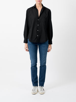 EILEEN LIGHT POPLIN IN BLACK