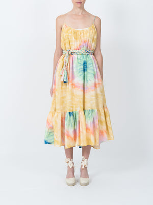 Lea Dress in Tie Dye