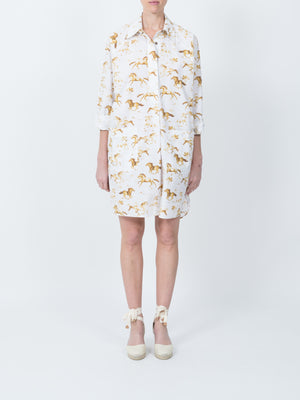 Weston Horseprint Dress