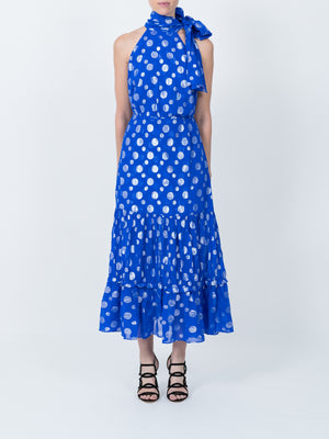 Eleanor Lame Spot Dress