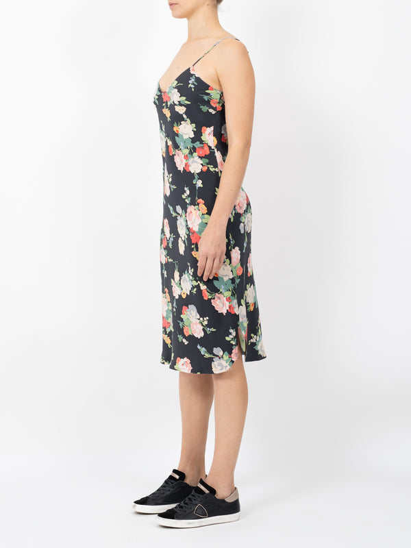 SHORT CAMI DRESS IN FLORAL PRINT