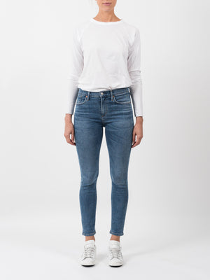 SOPHIE CROP HIGH RISE SLIM IN ADORE