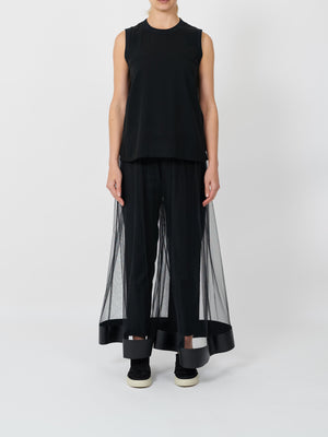TULE PANT IN BLACK