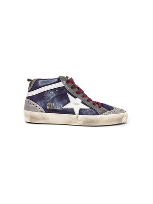 5e793a076017 Sneakers Mid Star in Navy Suede Sneakers Mid Star in Navy Suede. GOLDEN  GOOSE DELUXE BRAND