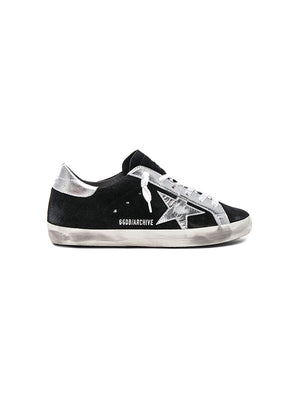 SNEAKERS SUPERSTAR BLACK SUEDE