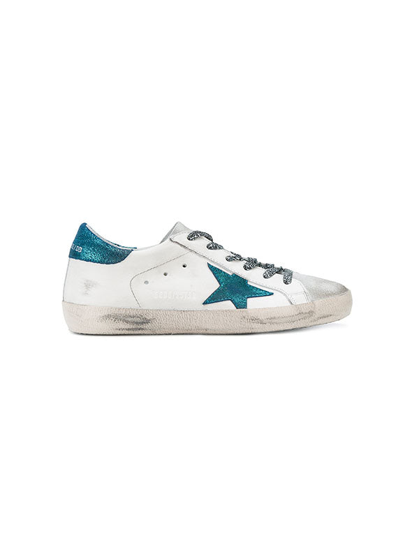 SNEAKERS SUPERSTAR BLUE STAR