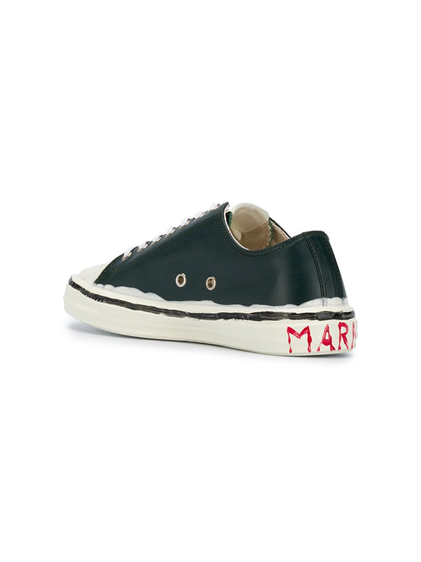 Marni Low Top Sneakers in Sage