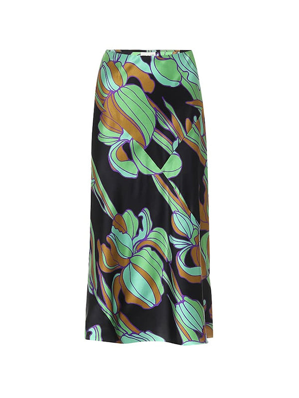 Dries Van Noten Suzen Skirt in Green