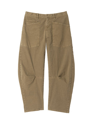 Shon Pant in Olive Green