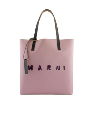 Shopping Tote in Light Rose