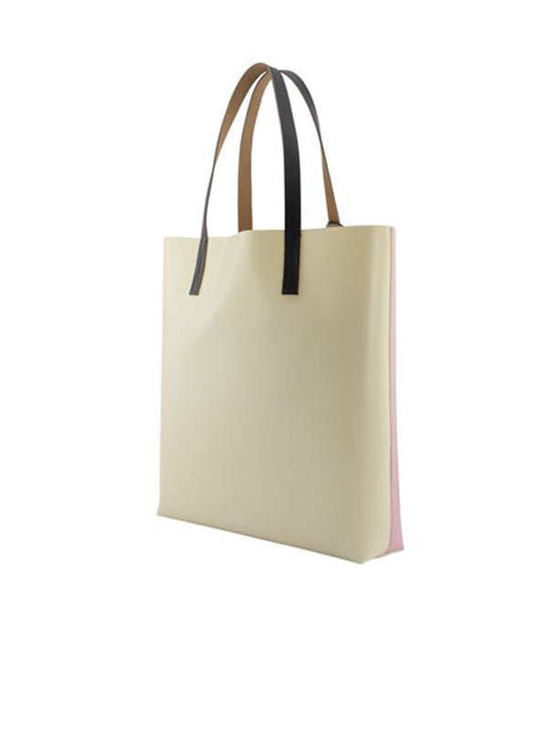 Marni Shopping Tote in Light Rose