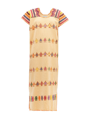 No.148 Embroided Midi Kaftan