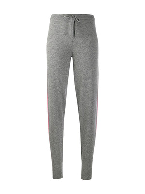 Ski Stripe Track Pant in Grey