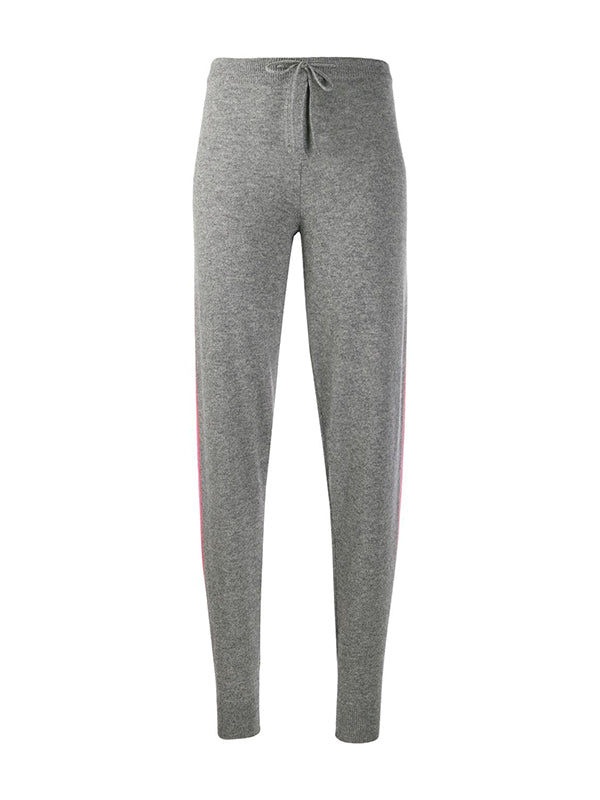 Chinti and Parker Ski Stripe Track Pant in Grey