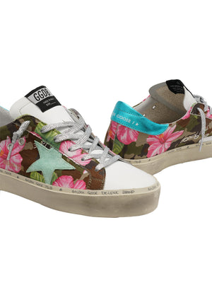 Golden Goose Sneakers Hi Star in Hibiscus Camouflage