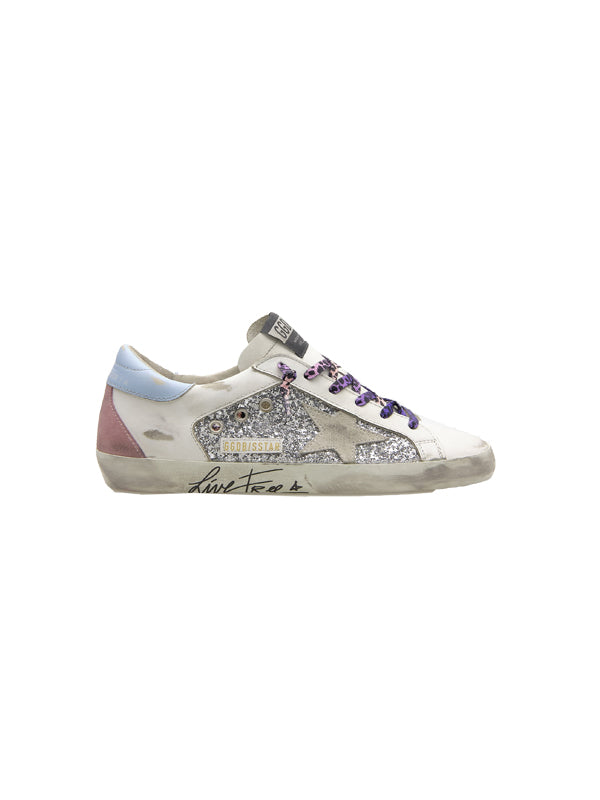 Golden Goose Sneakers Superstar Live Free Edition