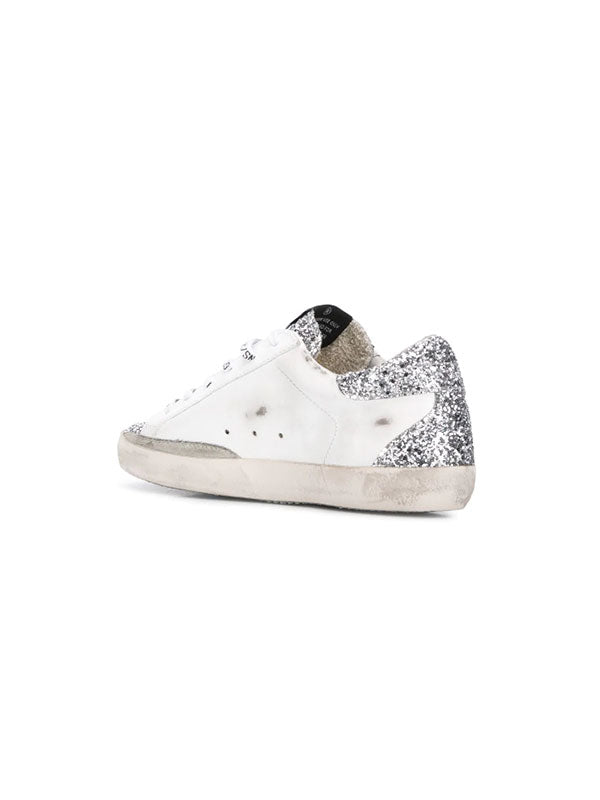 Golden Goose Sneakers Superstar in Silver GlitterGolden Goose Sneakers Superstar in Silver Glitter