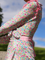 Rixo Suri Dress in Summer Ditsy/Pink Gingham