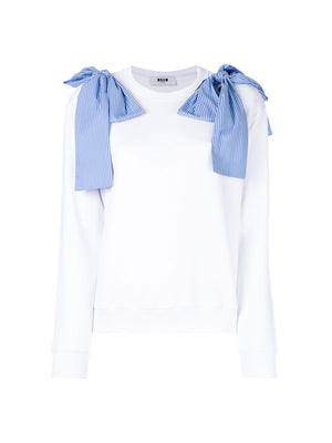 SWEATSHIRT WITH BOW