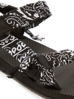 Arizona Love Trekky Bandana Sandals in Black