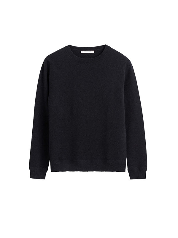 The Crew Classic Fit Sweater in Black