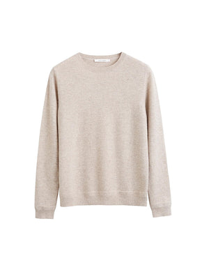 The Crew Classic Fit Sweater in Oatmeal