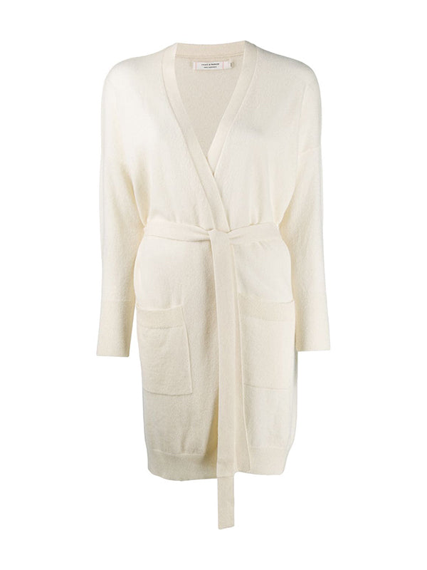 Chinti and Parker The Duster Cardigan in Cream
