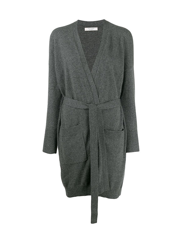 Chinti and Parker The Duster Cardigan in Grey