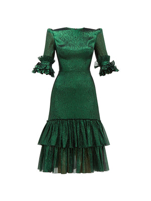 The Emerald Veneration Dress